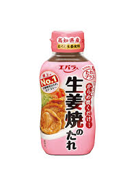 Ebara Seasoning Sauce (Pork Ginger) / 生姜焼きのたれ 230g - Konbiniya Japan Centre