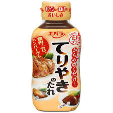 Ebara Seasoning Sauce (Teriyaki) / てりやきのたれ 235g - Konbiniya Japan Centre