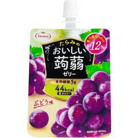Tarami Konnyaku Jelly Grape (Jelly Drink) / おいしい蒟蒻ゼリー  ぶどう味150g - Konbiniya Japan Centre
