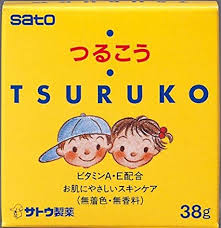 Tsuruko baby body Cream / つるこう クリーム 38g - Konbiniya Japan Centre