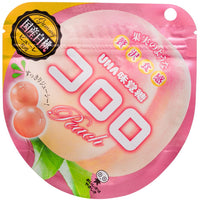 Cororo Gummy Candy Peach /  コロログミ ピーチ 48g - Konbiniya Japan Centre