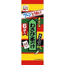 Wasabi Chazuke / わさび茶漬け  6 pcs - Konbiniya Japan Centre