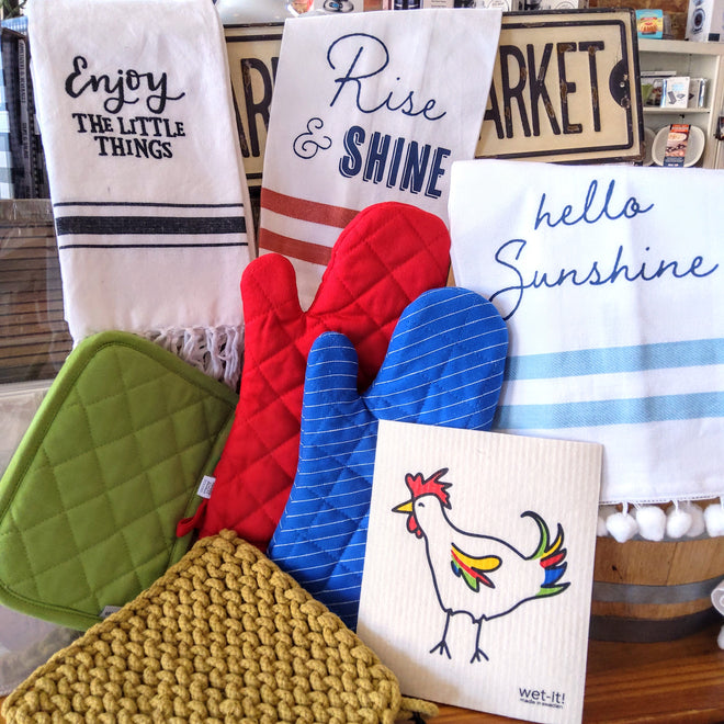 Linens, Mitts & More