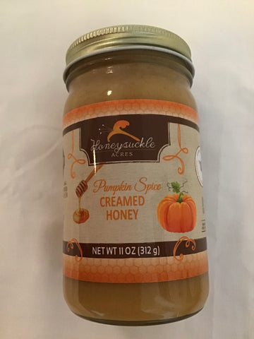 Honeysuckle Farms Pumpkin Spice Creamed Honey