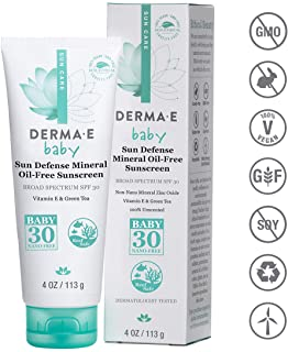 Derma E SPF 30 Baby Natural Mineral Sunscreen