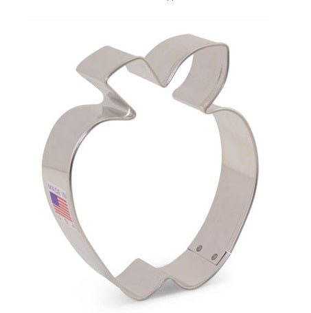 Apple with Leaf Cookie Cutter