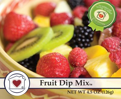 Country Home Creations Fruit Dip Mixes