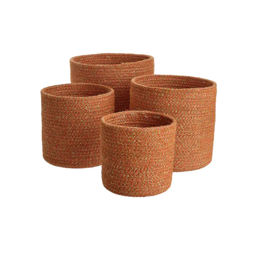 Media Cache Pots Set of 4