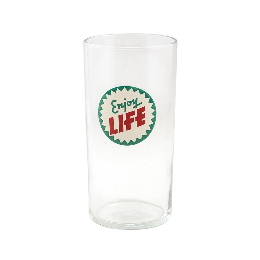 "HiBall ""Enjoy Life"" 8 oz Glass"