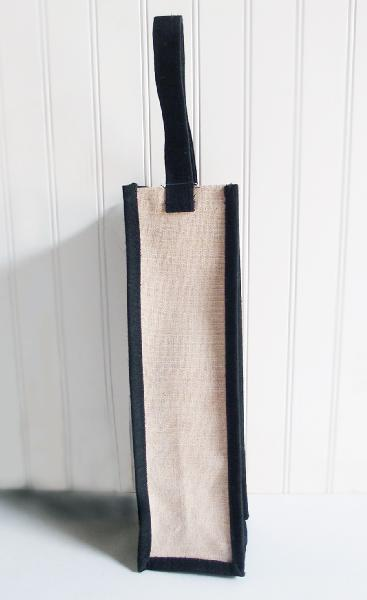 Jute/Canvas Wine Gift Bags