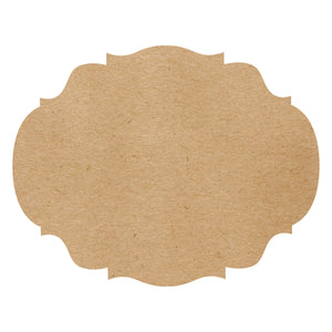 Die-Cut Craft French Frame Placemat