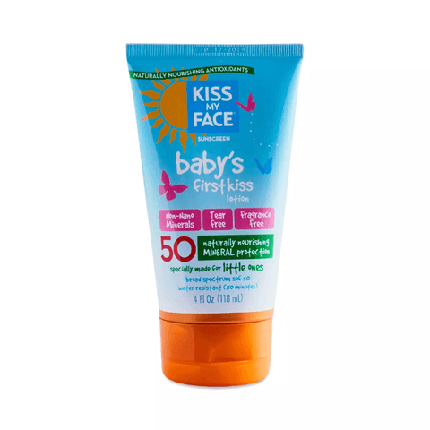 Baby's First Kiss SPF 50 Mineral Sunscreen Lotion