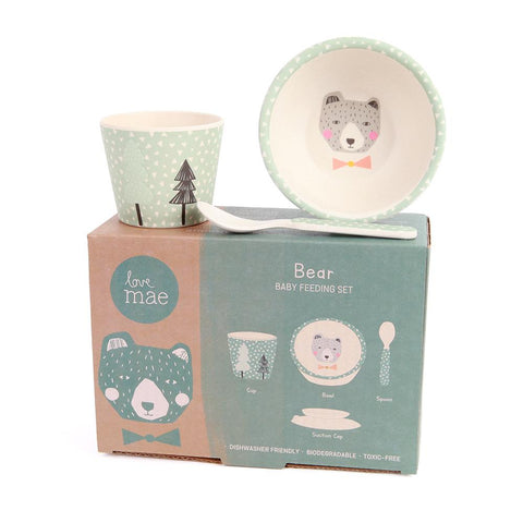 Baby Feeding Set with Suction Bowl