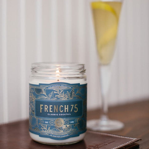 Rewined French 75 Candle