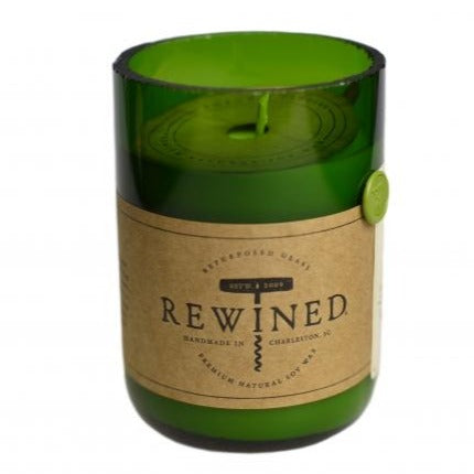 Rewined Sauvignon Blanc Repurposed Wine Bottle Candle