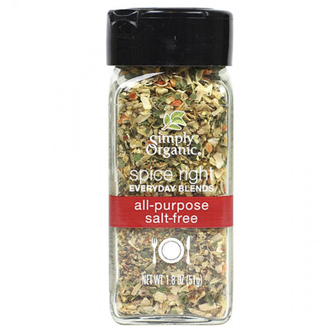 Simply Organic Salt Free All-Purpose Blend