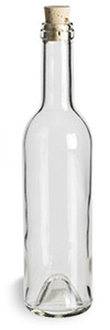 Bottle with Cork Lid