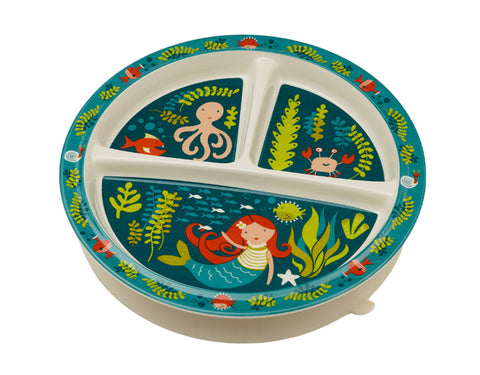 Mermaid Suction Baby Plate or  Bowl