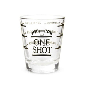 Bullseye Shot Glass