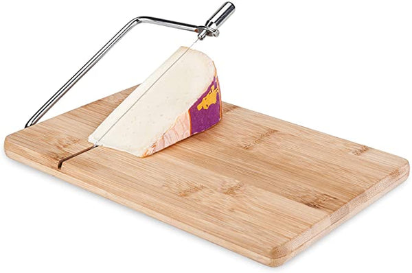Cutting Board with Cheese Slicer