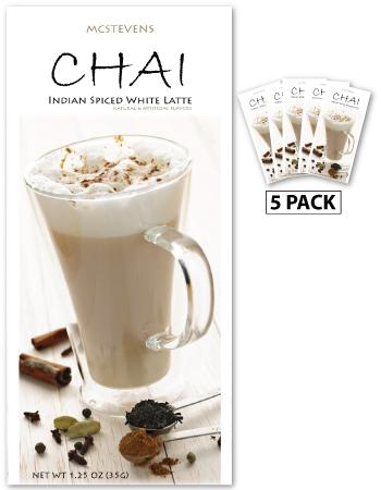 MCSTEVEN'S INDIAN SPICED CHAI TEA LATTE