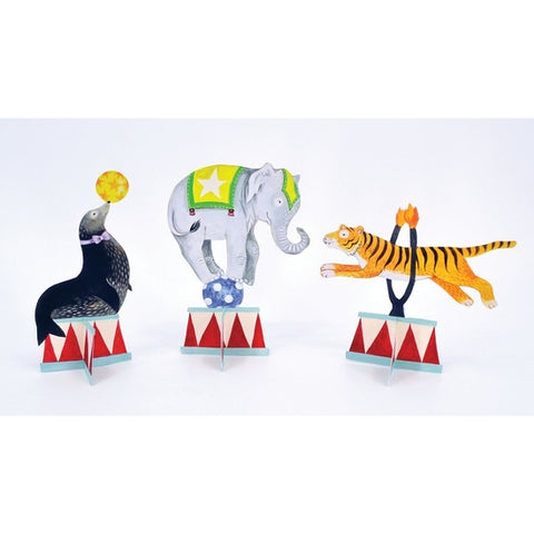 Hester & Cook Circus Tent Table Ornaments