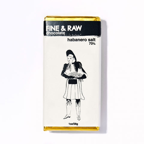 Fine & Raw Chocolates - Habanero Salt