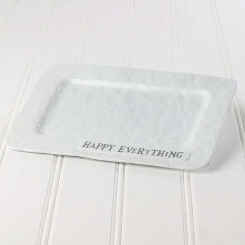 Happy Everything Serving Platter