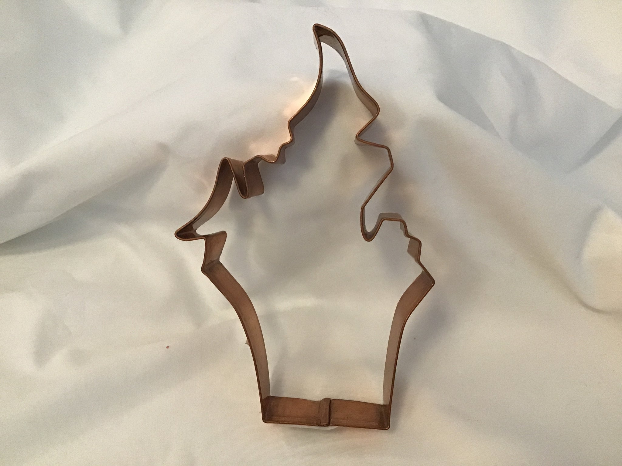 Copper Haunted House Cookie Cutter