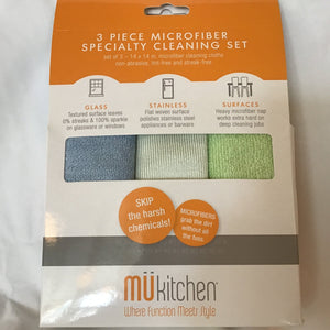 Microfiber Specialty Cleaning Cloths