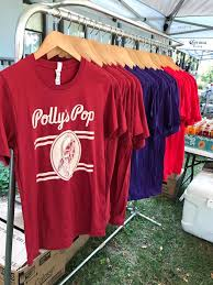 Black Cherry Red Polly's Pop T-shirt