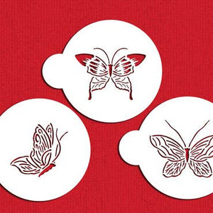 Butterfly Cake Stencil