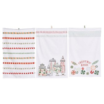 Cotton Holiday Towels
