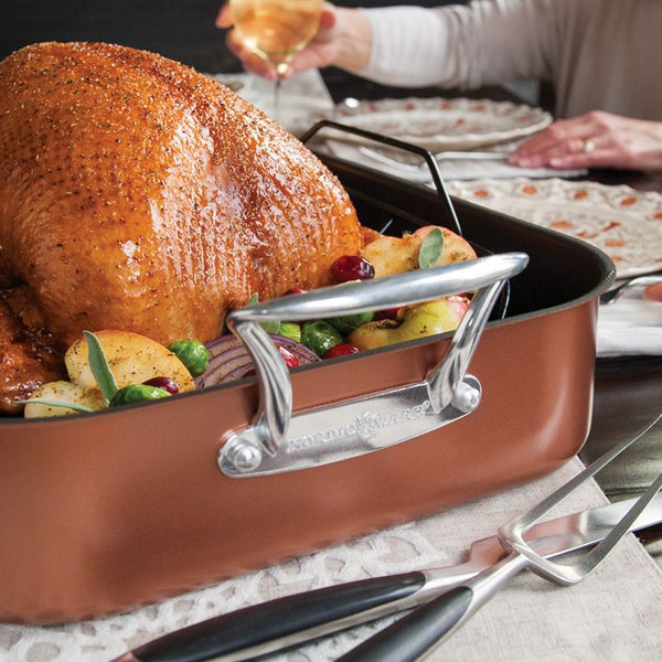 XL Turkey Roaster with Rack