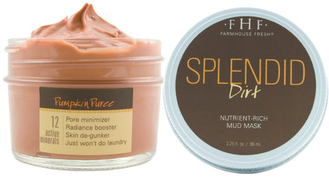 Splendid Dirt Pumpkin Mask - 3.2 oz