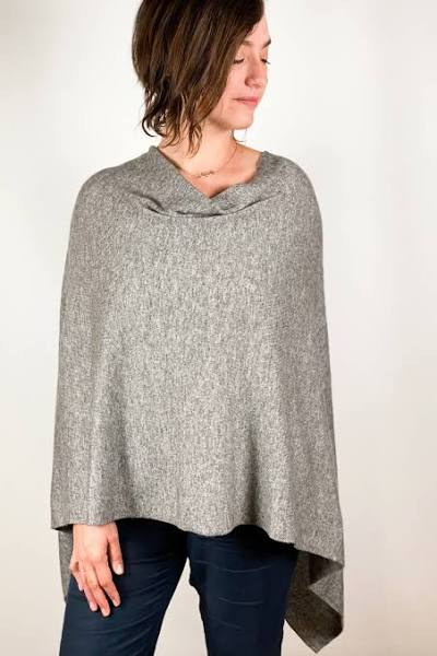 Cashmere Poncho- Assorted Colors