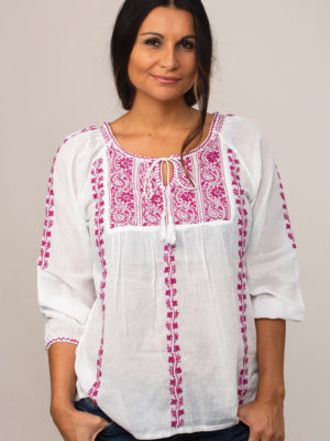 Asanga Purple Tunic