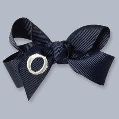 Monogrammed Hair Bow- Small