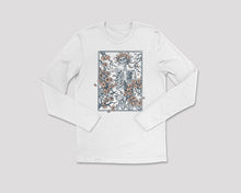 Load image into Gallery viewer, Flower + Bone - Long Sleeve Tee