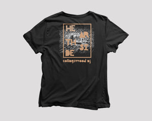black t-shirt for Hearthside Philadelphia restaurant