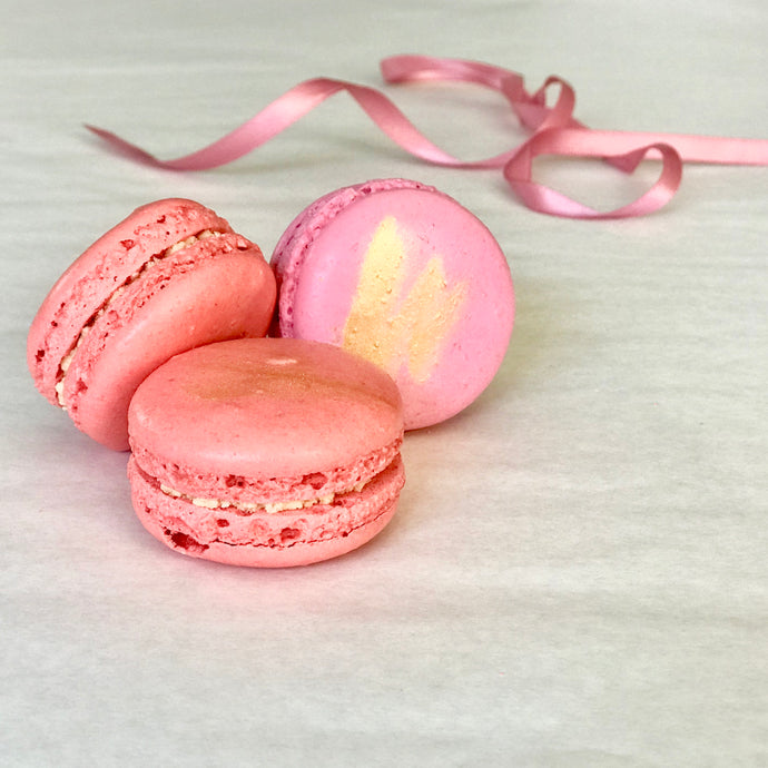 French Macarons 3-piece gift bag