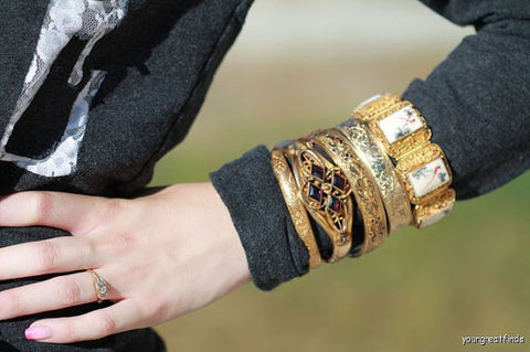 vintage jewelry fashion bracelets