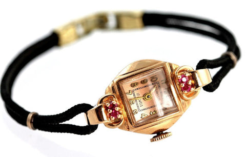 fashion jewelry gold watch