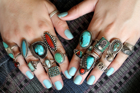 Yourgreatfinds blog antique vintage jewelry folk art Native American ...
