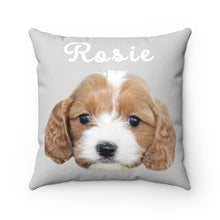 Load image into Gallery viewer, Gray Custom Dog Pillow