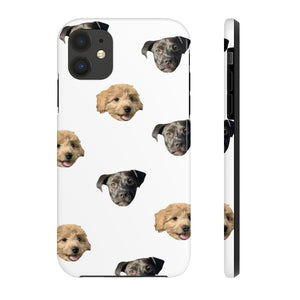 Two Faces Custom Pet Phone Case (Tough)