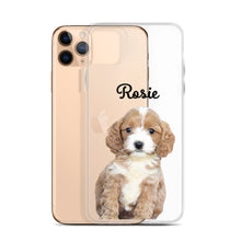Load image into Gallery viewer, Transparent Custom Pet Phone Case