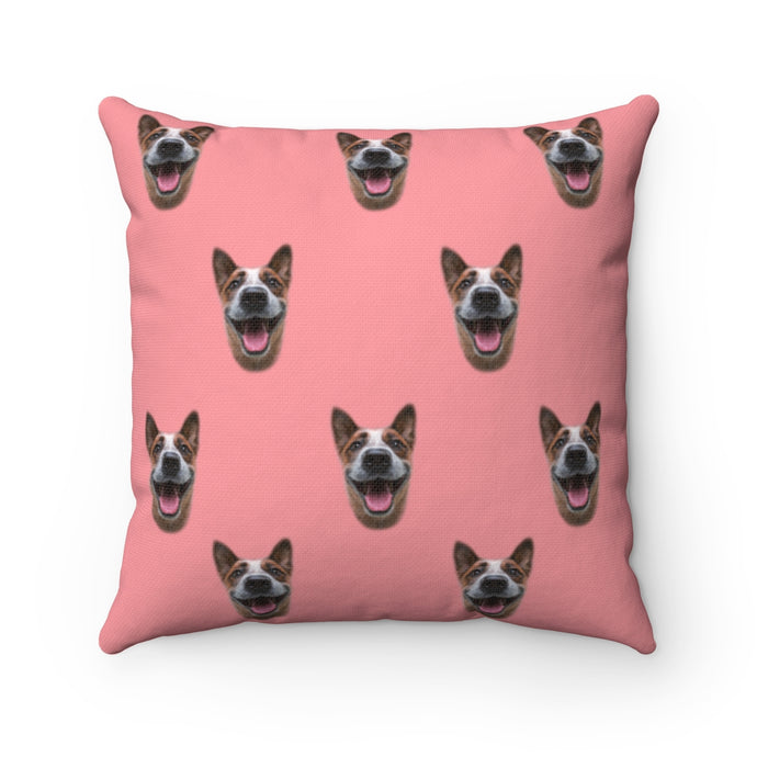 Pink Custom Dog Pillow