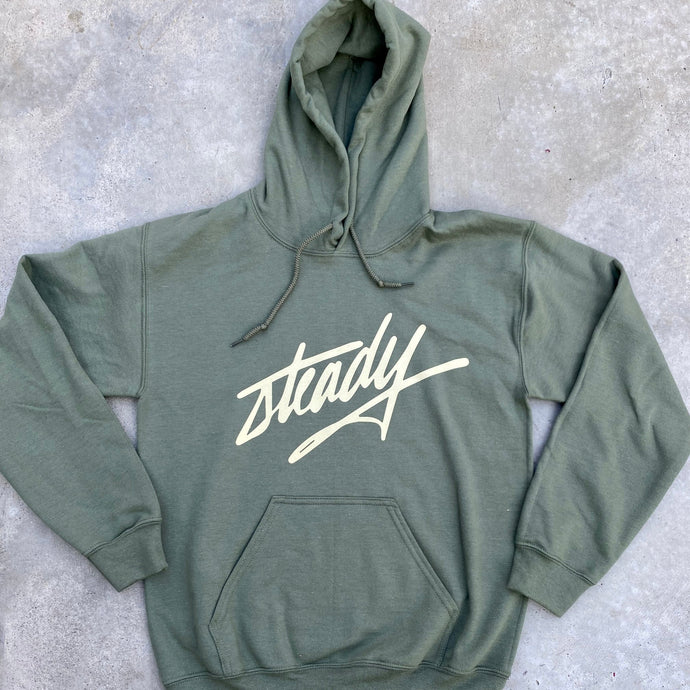 Signature Steady Hoodie Hunter Green