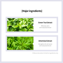 Load image into Gallery viewer, Green Tea Skin Soft Mask